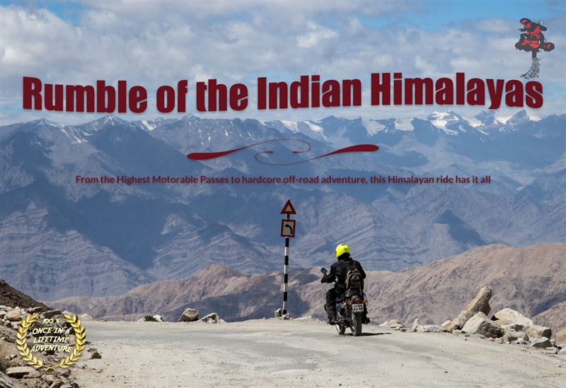Rumble Of The Indian Himalayas