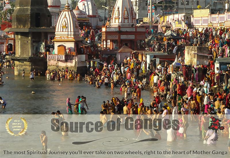 Source of Ganges